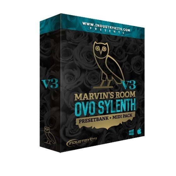 Industry Kits — Marvins Room OVO V3 PresetBank Sylenth