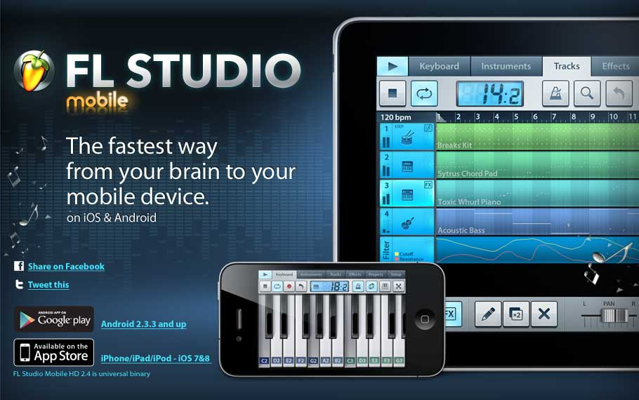 Image-Line — FL Studio Mobile 2.0.2 / Android
