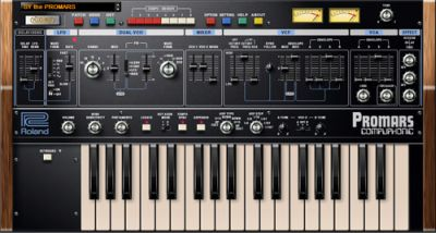 Roland — PROMARS PLUG-OUT 1.0.0 / Win (x86, x64)