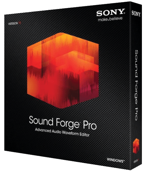 SONY — Sound Forge Pro 11.0 build 299 / Win (x86)