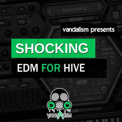 Vandalism — Shocking EDM For u-he Hive