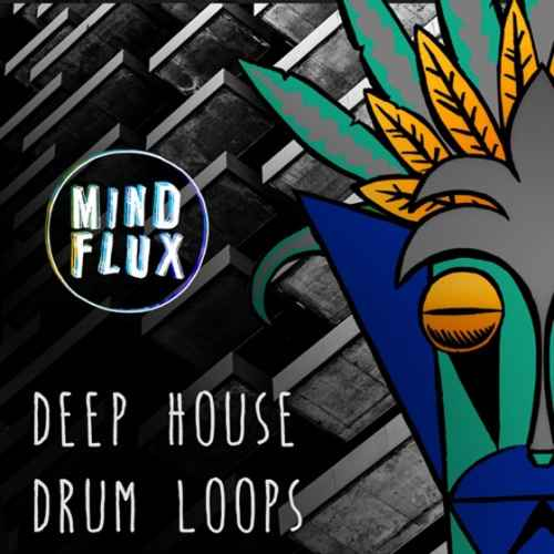 Mind Flux — Deep House Drum Loops (WAV)