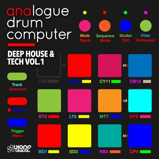 Biome Digital — Analogue Drum Computer Deep House and Tech Vol.1 (WAV)