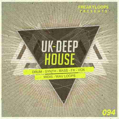 Freaky Loops — UK Deep House (WAV/MIDI)