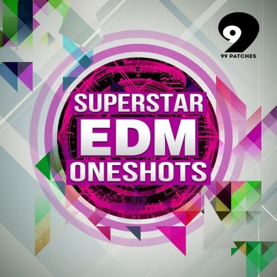99 Patches — Superstar EDM Oneshots (WAV)
