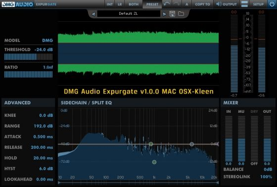 DMG Audio — Expurgate v1.0.0 WIN,OSX (x86 x64)