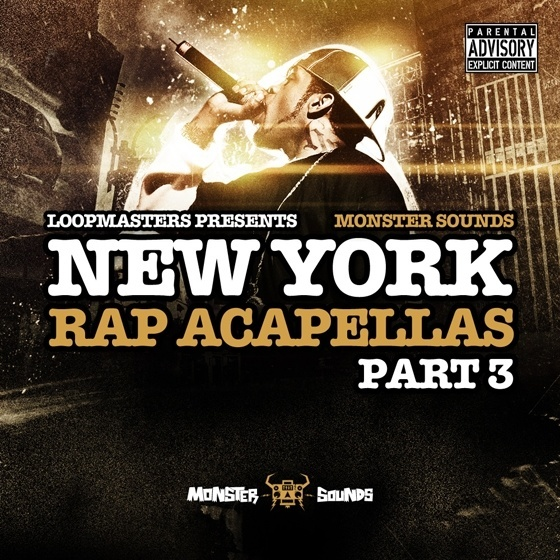 Monster Sounds — New York Rap Acapellas Part 3 (MULTiFORMAT)