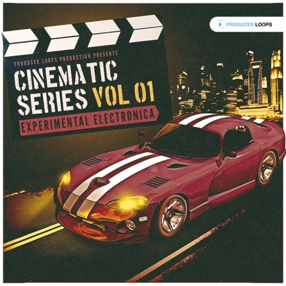 Producer Loops — Cinematic Series Vol 1 Experimental Electronica (MULTiFORMAT)