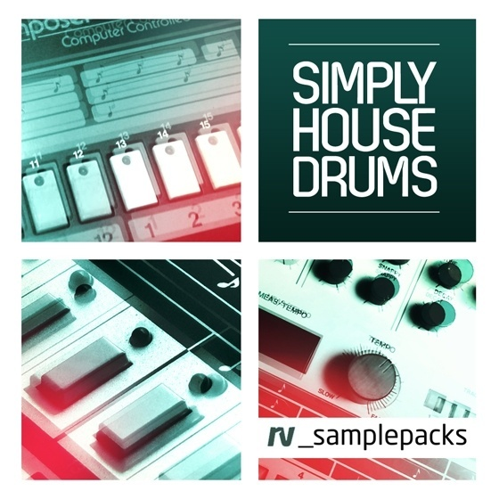 RV_Samples — Simply House Drums (WAV)
