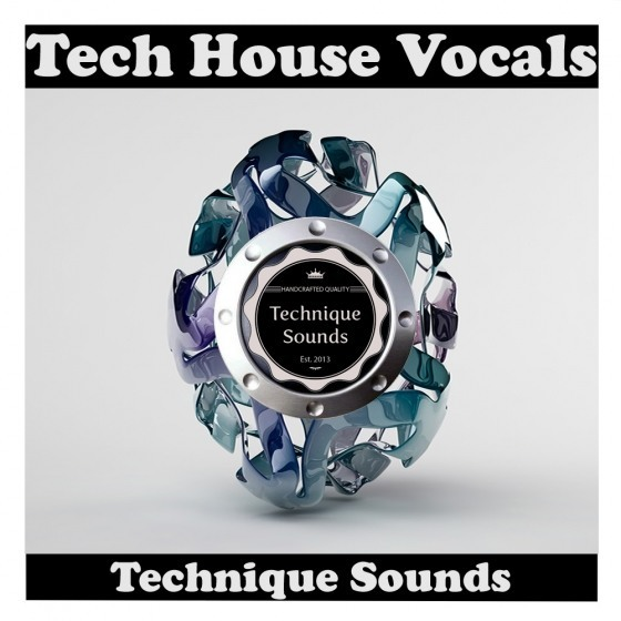 Technique Sounds — Tech House Vocals (WAV)