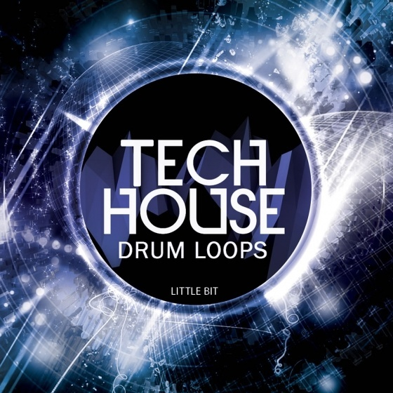 Little Bit — Tech House Drum Loops (WAV)
