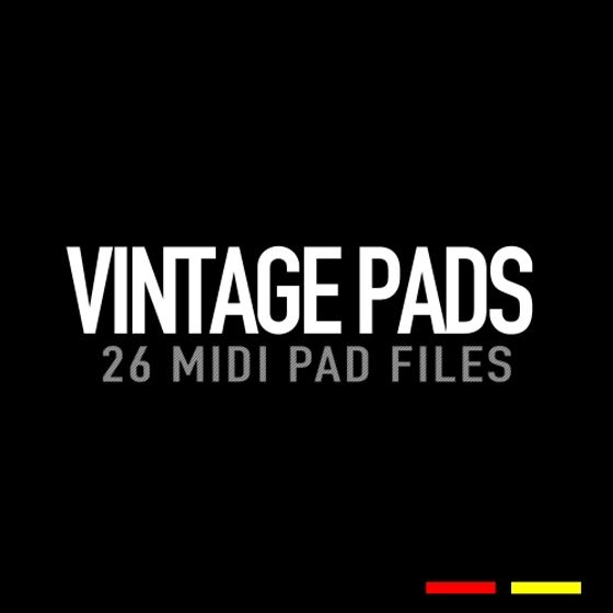 GR8 Audio Samples — MIDI Vintage Pads (MiDi)