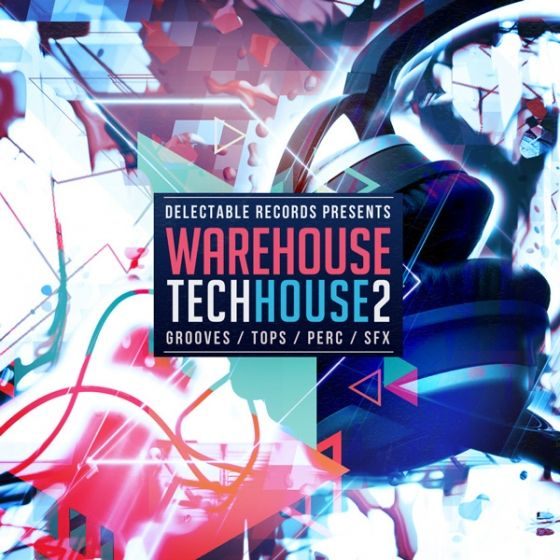 Delectable Records — Warehouse Tech House 2 (WAV)