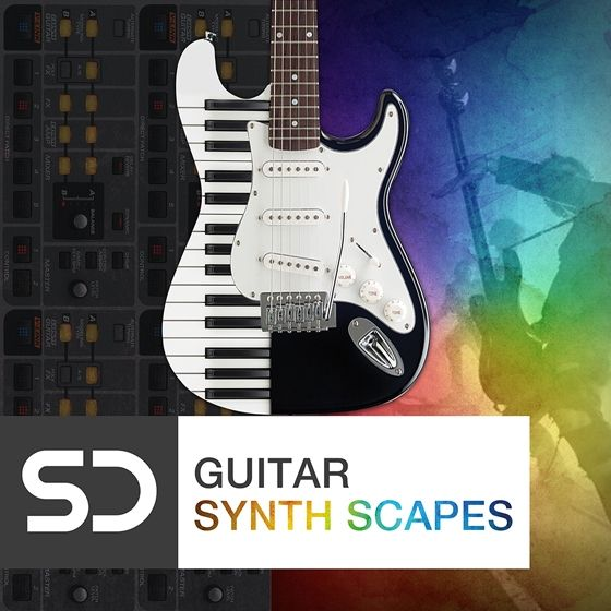 Sample Diggers — Guitar Synth Scapes (WAV)