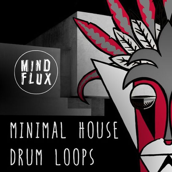 Mind Flux — Minimal House Drum Loops (WAV)