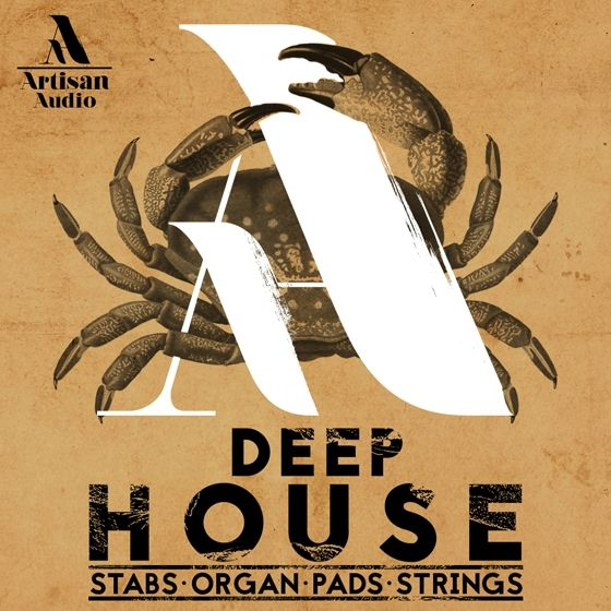 Artisan Audio — Deep House Stabs Organ Pads and Strings (WAV/MIDI)
