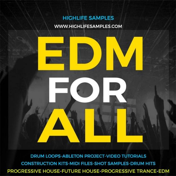 HighLife Samples — EDM For All (WAV/MiDi)