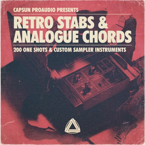 CAPSUN ProAudio — Retro Stabs and Analogue Chords (MULTiFORMAT)