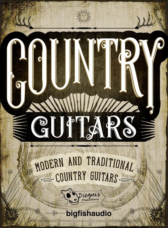 Dieguis Productions and Big Fish Audio — Country Guitars (MULTiFORMAT)