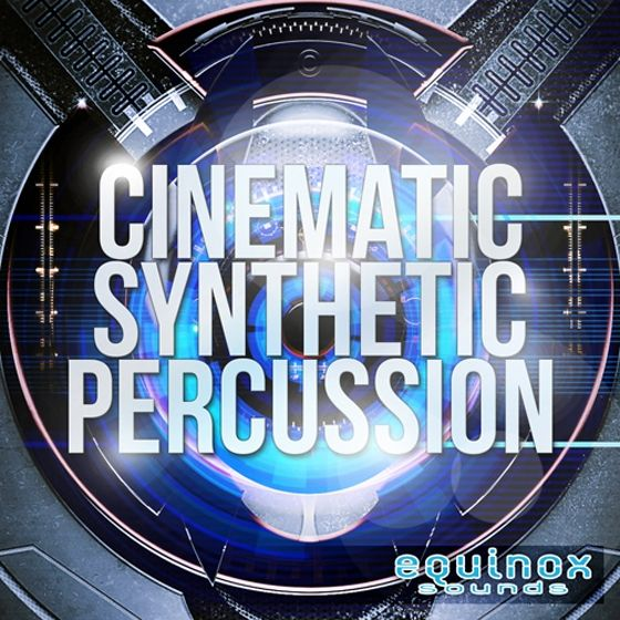 Equinox Sounds — Cinematic Synthetic Percussion (WAV)