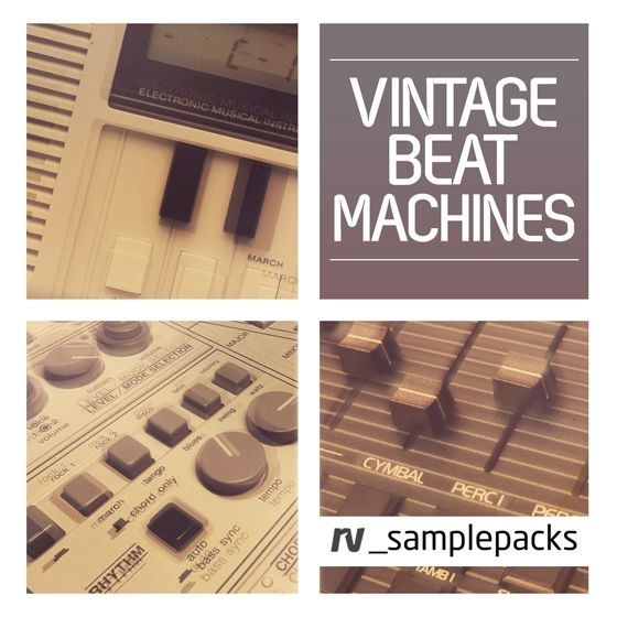 RV Samplepacks — Vintage Beat Machines (MULTiFORMAT)