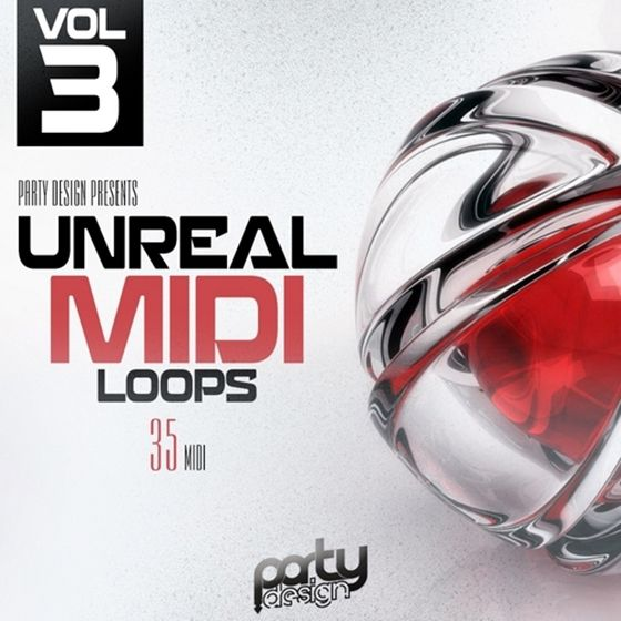 Party Design — Unreal MIDI Loops 3 (MiDi)