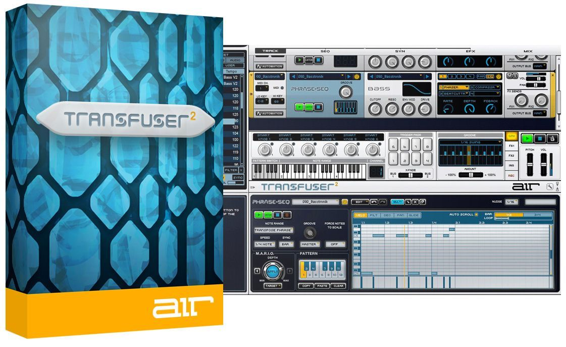 AIR Music Tech — Transfuser 2.0.7 VSTi, AAX (x86 x64)