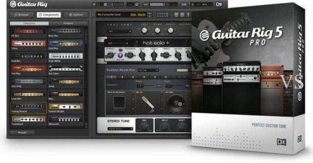 Native Instruments — Guitar Rig 5 5.2.1 STANDALONE, VST, AAX (x86 x64)
