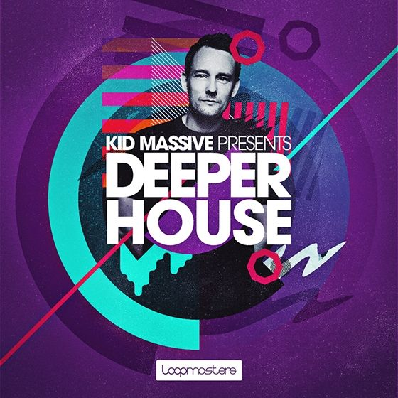 Kid Massive Presents Deeper House — глубокие сэмплы и лупы для элементов House