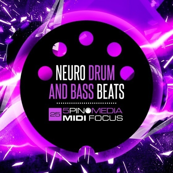 5Pin Media – MIDI Focus Neuro Drum and Bass Beats