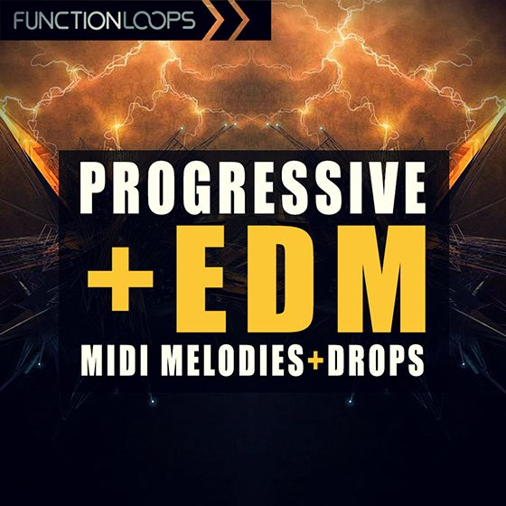 Function Loops – Progressive EDM Midi