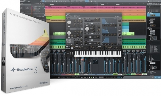 PreSonus – Studio One 3 Professional v3.2.1.37177